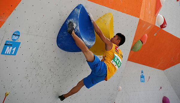 国际攀岩精英赛暨恩佐娱乐app下载攀岩分站赛在安龙举行