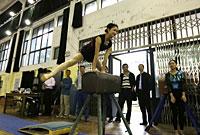 湖北省高等学校体操教学比赛