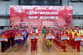 上海老年人运动会'南东杯'彩巾操比赛举行