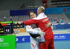 女重世界杯苏州站个人赛