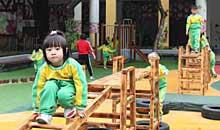 欢声笑语 快乐体操落地张槎中心幼儿园