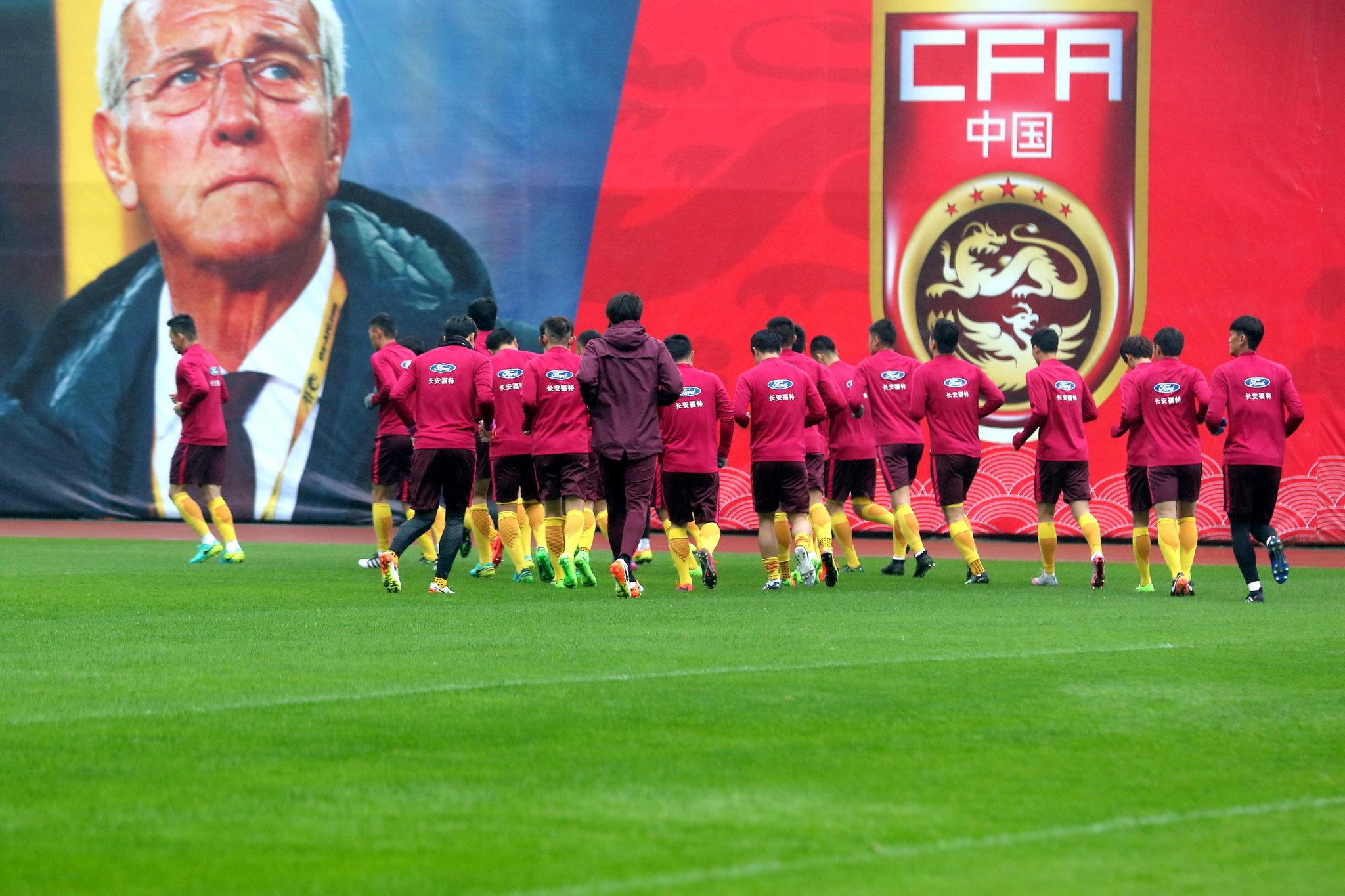 两年前的今天我们都以为中国足球找到了真命天子日签