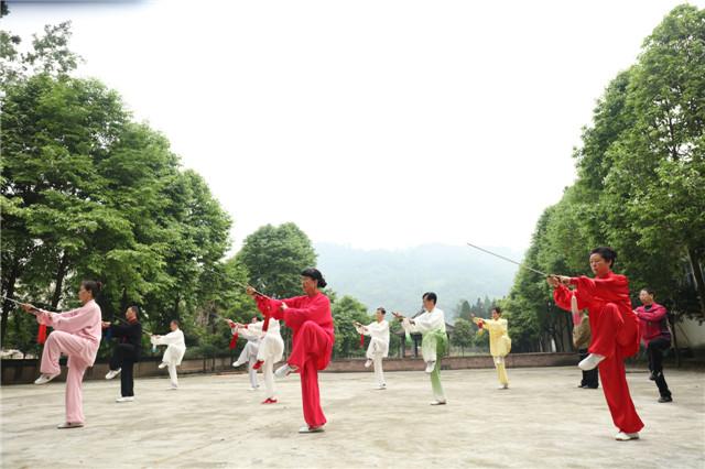 四川参加全国第三届老健会太极拳(剑)队集训选拔结束