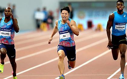 钻石联赛上海站 苏炳添百米夺冠成为中国第一人