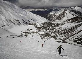 盛夏岗什卡 滑雪登山乐园