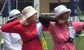 射箭世界杯中国队个人赛止步8强