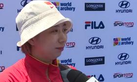 射箭世界杯中国女团摘铜 齐玉红赛后专访