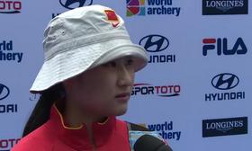 射箭世界杯中国女团摘铜 兰璐赛后专访