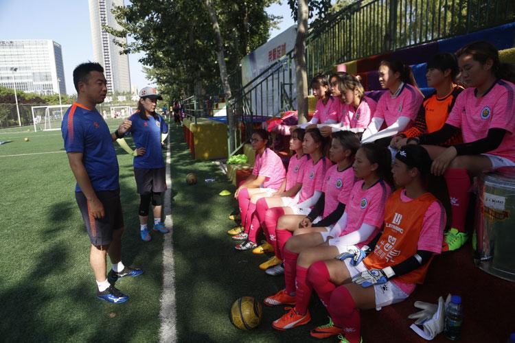以青春之名 为陕西征战全运会笼式足球全力以赴