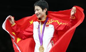 2012年伦敦奥运会 吴静钰成功卫冕49公斤级