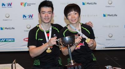 中国组合夺澳大利亚公开赛混双冠军