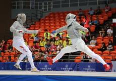 2017年全国击剑锦标赛首日集锦