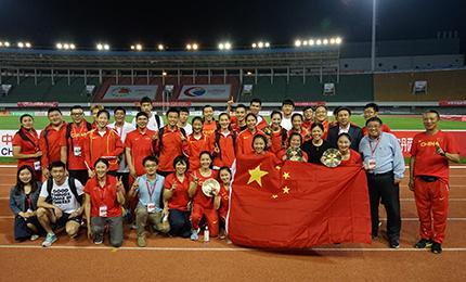 中日韩田径对抗赛落幕 中国队收获总成绩冠军