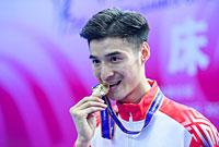 涂潇赢得全运男子网上个人冠军