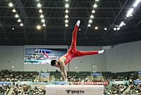 贵州队赢得全运会男团冠军