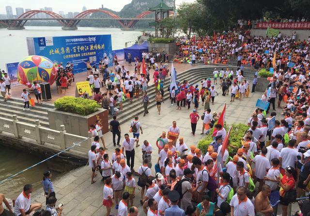 狂欢盛宴,百里柳江激情游活动盛大开幕