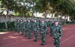 国家射箭队军训组图