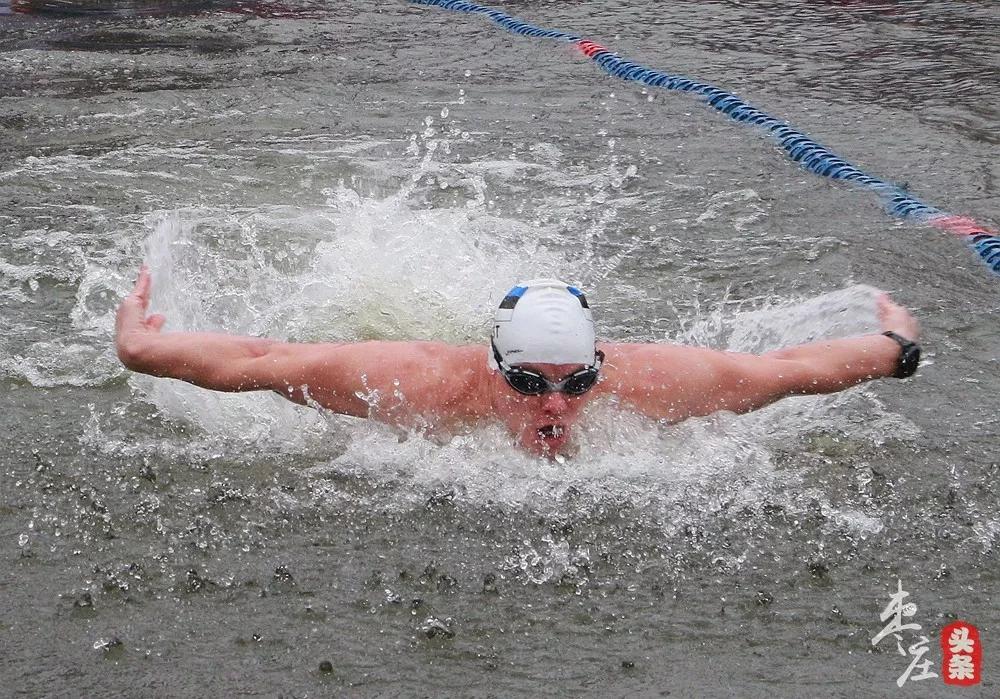 台儿庄国际冬泳节在台儿庄古城盛大开幕