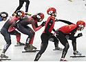 短道速滑男子5000米接力 中国队晋级决赛