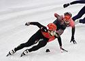 短道速滑男子1000米预赛:武大靖晋级