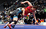 中国队夺女子跤世界杯团体亚军