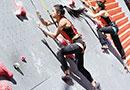【组图】亚运会国家攀岩集训队第二轮选拔赛举行