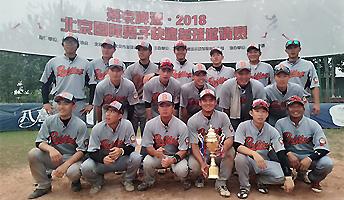 北京国际男子快速垒球邀请赛 北京猛虎夺得冠军