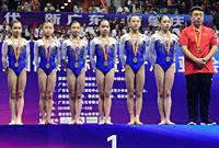 体操全锦赛女团决赛赛况