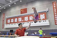 亚运会选拔测验进入第二天