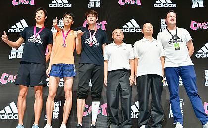 中国田径街头巡回赛上海站 王宇2米32破纪录夺冠