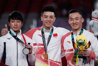 林超攀获亚运会个人全能金牌