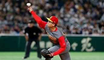 陆振洪本垒打引领进攻潮 中国棒球亚运首秀大胜