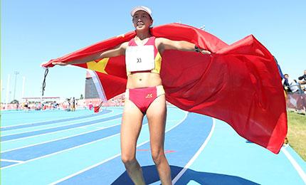 中国田径闪耀青奥赛场 收获3金1银1铜骄人成绩
