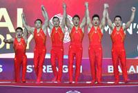 中国队世锦赛男子团体夺冠