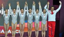 中国队获世锦赛女团季军