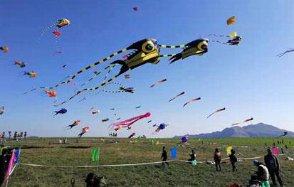 2018第二届全国兴仁放马坪露营风筝赛举行