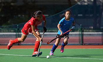 上海市第十六届运动会曲棍球比赛完美收官