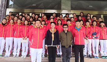 期待东京绽放 国家女曲冬训动员会在攀枝花举行
