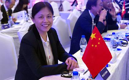 中国田径协会副主席王楠高票当选亚田联副主席