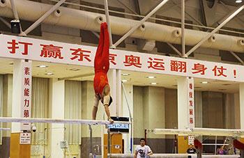 冷静应对奥运延期 体操队加紧训练