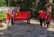 记国家自行车队五四青年节学习座谈活动