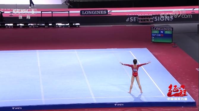 中国体操队队员祁琦:调皮女孩成长记