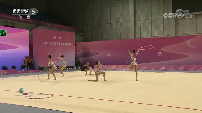 中国艺术体操队 民族风 迎奥运