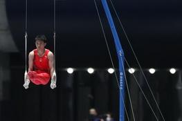 体操丨东京四国体操赛举行